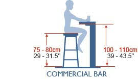 table height bar stools bar table standard height bar stools pinterest bar seating