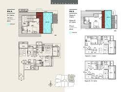 Triplex Floor Plans Penthouse East Bay Penthouse Floor Plans Crtable