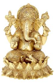 Online Shopping Of Home Decor Items India Buy Handmade Indian Brass Religious Items Indian Decor Ganesha