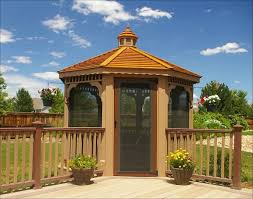 Gazebo Designs  Ideas Wood Vinyl Octagon Rectangle And More - Gazebo designs for backyards