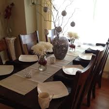 Christmas Decorations On Dining Table by 28 Best Bjursta Table Ideas Images On Pinterest Dining Room