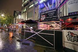 broad street bar risa held an ebola themed halloween party