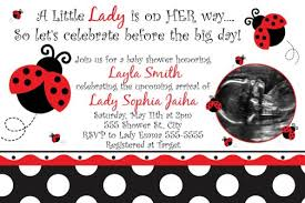 ladybug baby shower ladybug fancy baby shower invitations