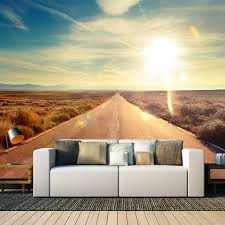 create a wall wall murals photo wallpaper canvas prints wide open road wall mural