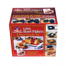edible images choice better baker edible bowl maker tri pack