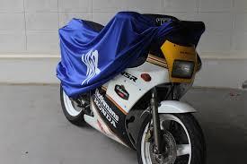 tyga bike dust cover blue black honda nsr tyga performance