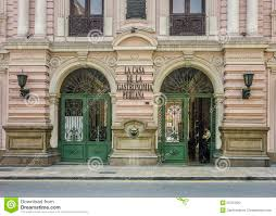neoclassical style building facade editorial image image 50707920