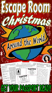 christmas around the world escape game activity activities
