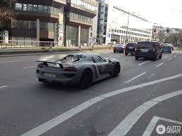 martini porsche 918 porsche 918 spyder with grayscale martini livery feels timeless