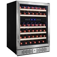 haier mini fridge with glass door magic chef 16 bottle 77 can dual zone wine and beverage cooler