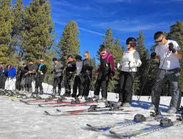 summit ski at big bear turns out more confident skiers