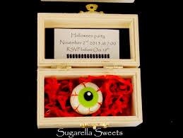 make halloween invitations sugarella sweets how to make eyeball cookie invitations