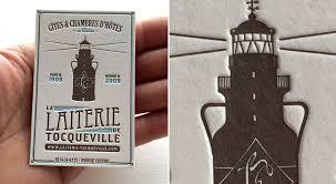 gites et chambres d hotes badcass carte de visite en letterpress gîtes et chambres d hôtes