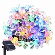 Christmas Patio Lights by Idoo Solar Led String Lights Crystal Ball For Outdoor Garden Patio