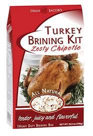 and flavor turkey brine dean jacob s zesty chipotle turkey brining kit