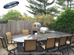 Long Island Patio Outdoor Kitchen W Wood Burning Pizza Oven Long Island N Y 11710