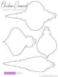 ornament templates to print tree challenge semi