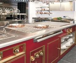 restaurant kitchen furniture molteni luxury professional stoves