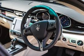 maserati steering wheel driving driven maserati quattroporte gts review