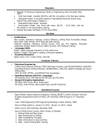 Ksa Resume Examples by Drilling Engineer Cover Letter