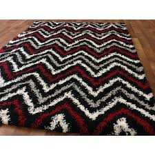 Black And Red Shaggy Rugs Red Black And Gray Area Rugs White And Grey Area Rugs Serendipity