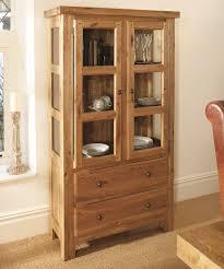 solid oak china cabinet windermere solid oak glazed display cabinet oak furniture uk