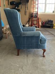 58 water street wingback chair makeover