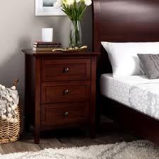 size 3 drawer nightstands u0026 bedside tables shop the best deals