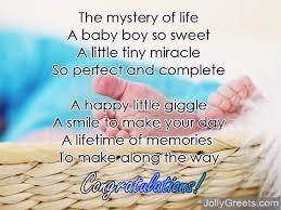 baby boy poems congratulations for baby boy poems for newborn baby boy