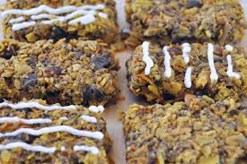 vegan gluten free travel carrot cake oatmeal bars the colorful
