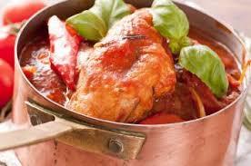 cuisine poulet basquaise poulet basquaise au piment d espelette recettes de cuisine française
