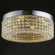 crystal ceiling lights modern led crystal ceiling lamp modern round circle lustre chandelier