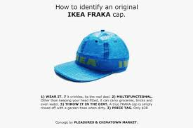 How To Say Ikea Pleasures X Chinatown Market Offer Ikea Hat Hypebeast