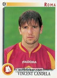 candela calciatore sticker 302 vincent candela panini calciatori 1997 1998
