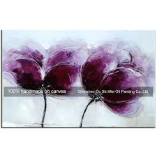compare prices on flower purple painting online shopping buy low