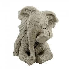 melmar ellie the elephant garden ornament gardener