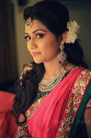 indian hairstyles engagement indian engagement bridal hairstyle best hairstyle photos on