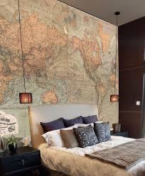 Wallpaper To Decorate Room Best 25 Map Bedroom Ideas On Pinterest Travel Bedroom World