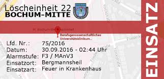 Bergmannsheil Bochum Haus 3 Einsatz 75 2016 F3 Bergmannsheil Le22 Bochum Mitte