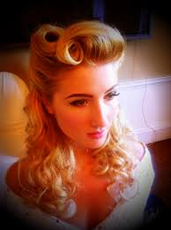 pin up hair modern 1940s victory rolls all for mary redefining