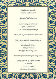 5 best images of retirement party invitations templates free
