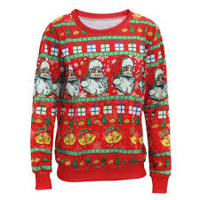 aliexpress com buy ugly christmas sweater men women santa claus