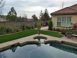 California Backyard Grass Turf Heber California Paver Patio Backyard Landscape Ideas