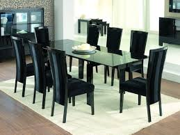 Black Dining Room Chairs Coffee Table Surprising Cream Dining - Black dining room sets