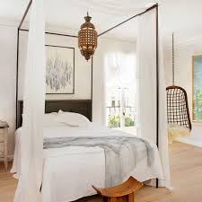 how to decorate canopy bed how to decorate for your bed style sunset magazine