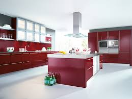 Kitchen Island Red Fancy Stationary Kitchen Island Features Rectangle Shape White