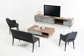 computer coffee table modrest kennedy modern walnut coffee table