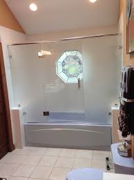Frosted Glass Shower Door by Euro Shower Doors All Glass And Showers
