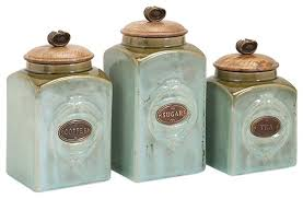 kitchen canisters green ceramic kitchen canisters freeyourspirit