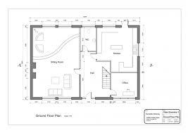 basic house floor plan dimensions